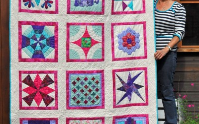 Bronwen Finished quilt