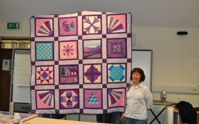 Bridget N. completed quilt