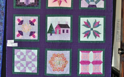 Janet B. completed quilt