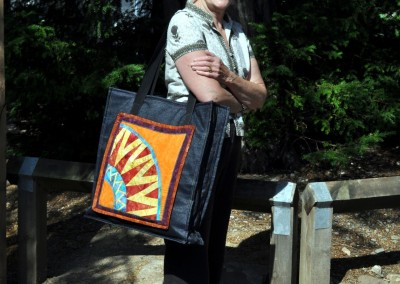 Helen's New York Beauty block bag