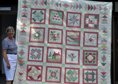 Judy C. completed quilt
