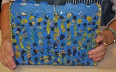 Raita's printed & embellished bagbag