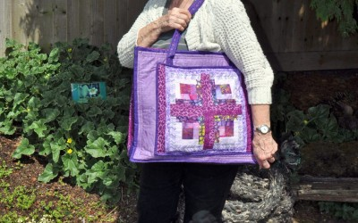 Melita's logcabin bag