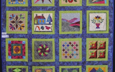 Sue's completed quilt
