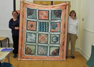 Carole W. completed quilt