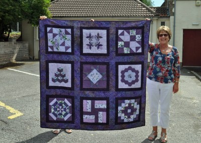Gill S. completed quilt