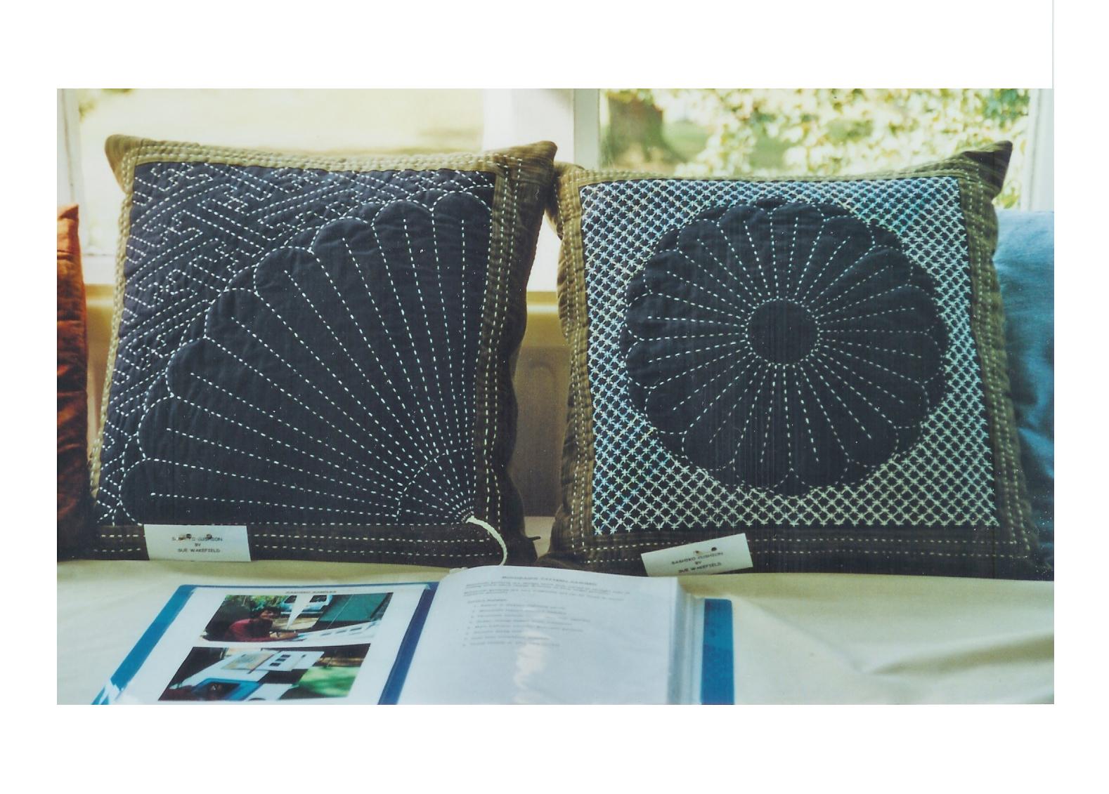 Sashiko Cushions Lynnequinn Com