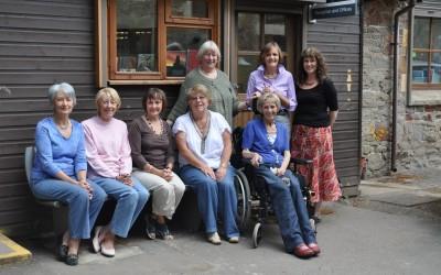 2010 L-R Jenny, Audrey, Sue, Hazel, Dorothy & Ann, Anthea, Lynne (standing)