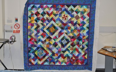 Maggie T. inspired by Katherine Guerrier's book Scrap Quilt Sensations
