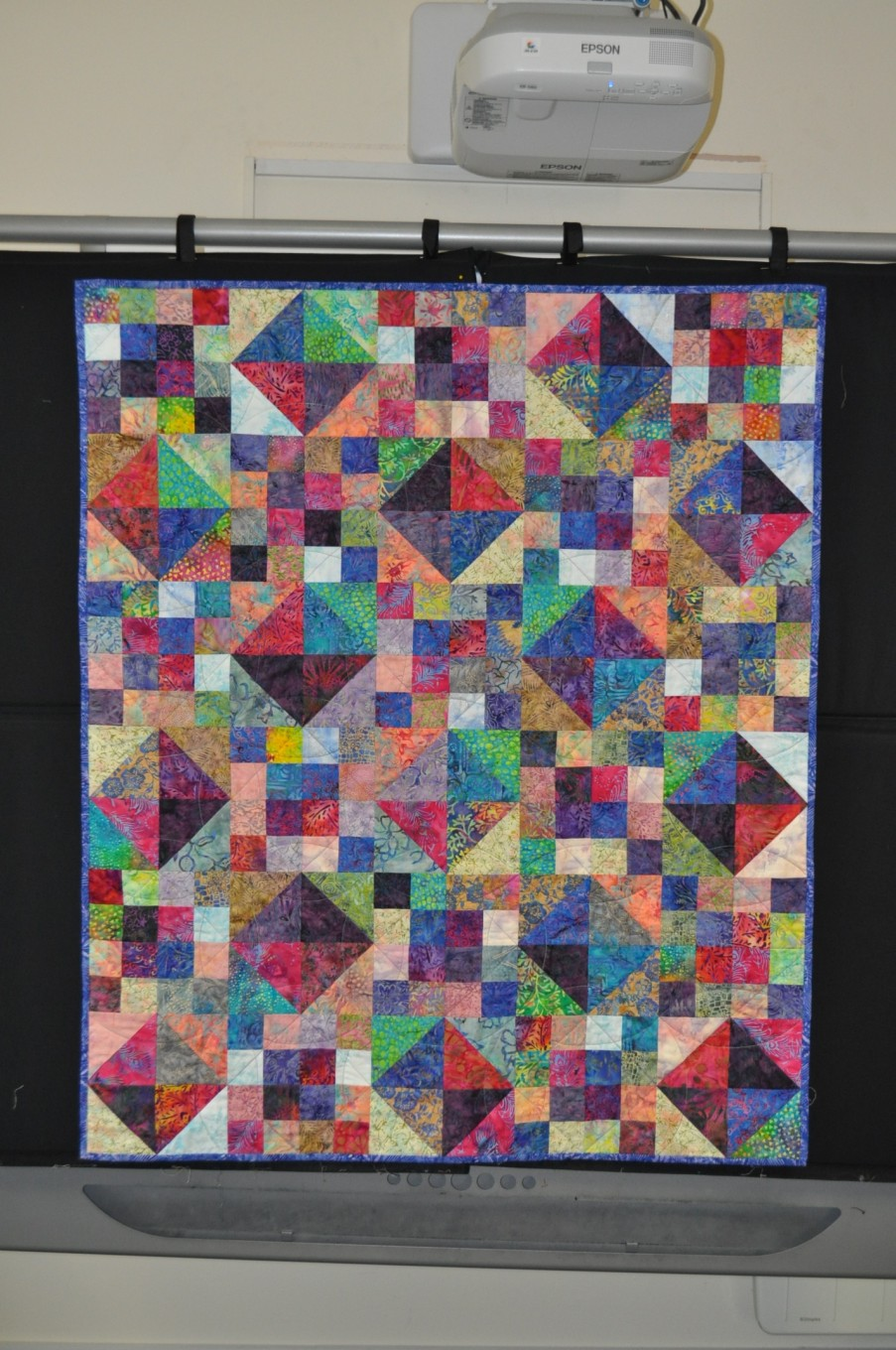 Margaret B. from Scrap quilt Sensation by Katherine Guerrier