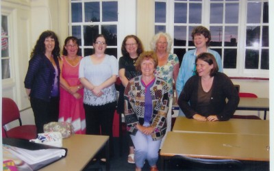 2011 C&G (Bristol class - some) Lynne, Sally, Tammy, Karen, Helen (seated), Belinda, Sandy, Andrea (seated)