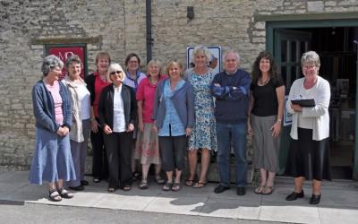 2011 C&G (MQ) L-R Sue, Di, Judy, Carol, Gillian, Barbara, Julia, Sheila, Chris, Lynne, Joan (C&G IV)