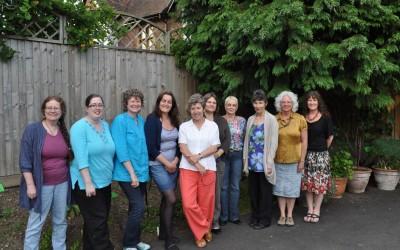 2013 C&G (Bristol)  Karen, Tammy, Sandy, Rebecca, Helen, Andrea, Angela, Ruth, Belinda, Lynne