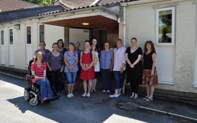 2015 C&G Penny, Janet, Claire B, Rachel, Jane, Pauline, Lucy, Sarah, Lesley S. Kate, Claire H, Lynne