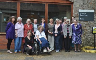2013 L-R Lynne, Elizabeth, Margaret, Janet, Ruth, Lesley, Bronwen, Bridget, Helen, Denise Warr, Theresa, Carole and Jan & Margaret in front(in front)