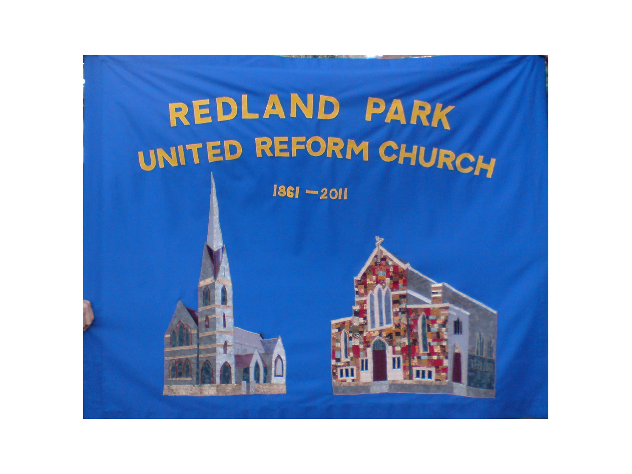 Carole A.'s church banner