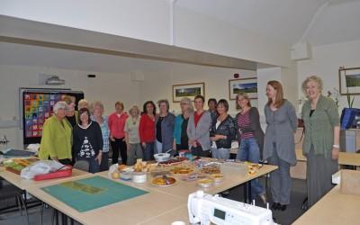 2012 L-R Jill,Antje, Anna, Maggie, Sally, Elaine, Melita, Graciela, Raita, Bernie, Anthea, Anne-Marie, Sue, Katie, Jane & Dorcas