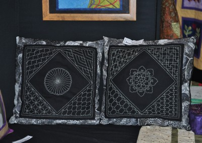 Antje P. Sashiko cushions