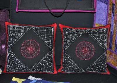 Malin W. Sashiko cushions