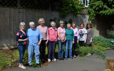 6. 2015 L-R Bronwen, Elizabeth, Ros, Joan, Grace, Janet, Lis, Clare, Lynne