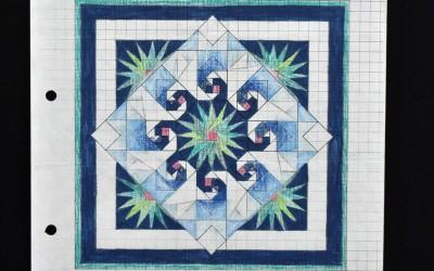 Final quilt design
