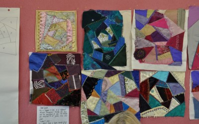 Crazy Patchwork samples