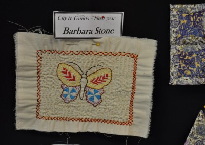 Barbara S. Kantha (Indian quilting style)