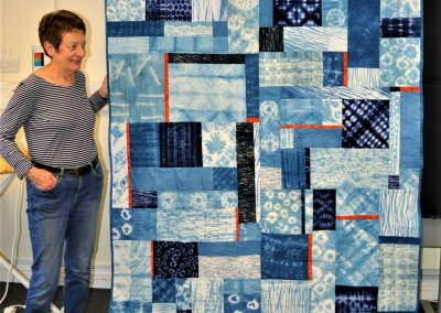 6. SUE N. Final Quilt - Bedtime Blues 1
