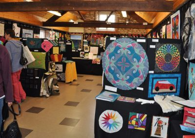 2015 Exhibition at Midsomer Quilting 1.