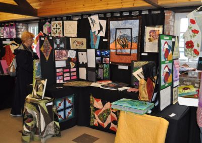 2015 Exhibition at Midsomer Quilting 8.