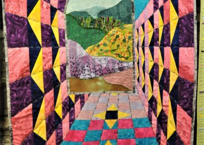 28. Jenny S. Completed quilt