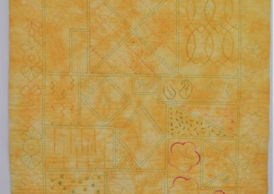 30. Jenny S. Wholecloth quilt