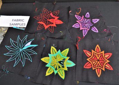 6e Helen C. Fabric samples