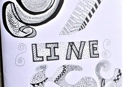 8. Helen C. Design work Line 1