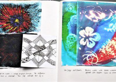 8. Helen C. Design work Line 4.