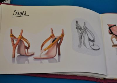 Amanda R. 51. Form 2nd topic - Shoes
