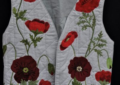 Ruth C. 6. Completed waistcoat
