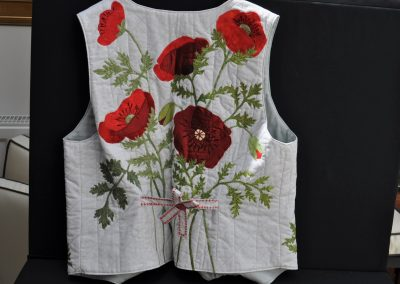Ruth C. 7. Completed waistcoat
